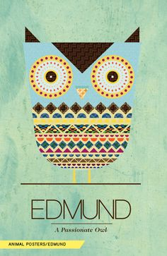 by able design - via behance #illustration #owl #colour #animals #poster