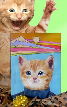 Your kitty will be thrilled  #gifts #ecstatic #super pumped #floored #thrill factor #impressive