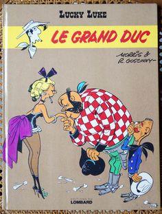 Le Grand Duc est la cinquante-neuvième histoire de la série Lucky Luke par Morris sur un scénario de René Goscinny. Elle est publiée pour la première fois du no 690 au no 707 du journal Pilote, puis est publiée en album en 1973 aux éditions Dargaud. https://fr.wikipedia.org/wiki/Le_Grand_Duc_(Lucky_Luke)