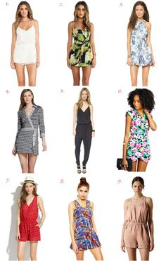 shop these summer rompers!