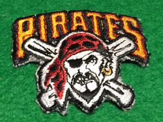A personal favorite from my Etsy shop https://www.etsy.com/listing/269147717/pittsburgh-pirates-embroidered-patch