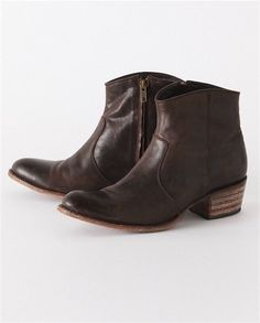 Leather Ankle Boot by Poetry