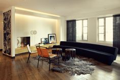 My favourite interiors are those that cannot be replicated, that are edgy and eclectic and have...