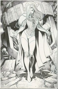 Emma Frost, The White Queen by Arthur Adams