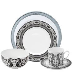 Wedding Library - Urban Woodland 5-Piece Placesetting Two