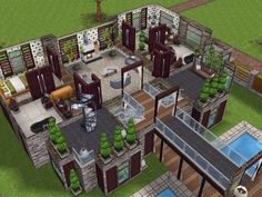 House 66 level 2 #sims #simsfreeplay #simshousedesign