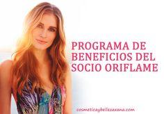 Programa de beneficios del socio de Oriflame
