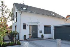 Architektenhaus von 2P-raum und Lehner Haus Planung Einfamilienhaus, Freier Architekt, Fertighaus, München: