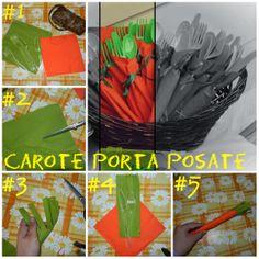 NeoMamma On Board: carote porta posate primavera pasqua