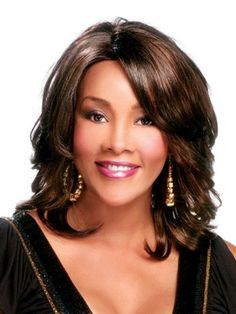 Medium Layered Hairstyles for African American women