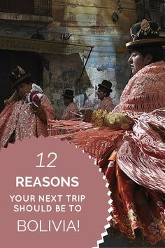 12 Reasons Your Next Trip Should Be To Bolivia http://www.bolivianlife.com/12-reasons-your-next-trip-should-be-to-bolivia/ #travel