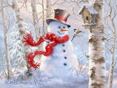 Snowman you can buy http://www.bradfordexchange.com/products/125660001_bright-smiles-and-snowflakes-wall-decor.html