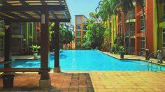 Swimming Pool at University Green, Melaka