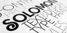 Solomon™ font download