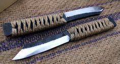Higo Aisi:52100 These are traditionally forged.