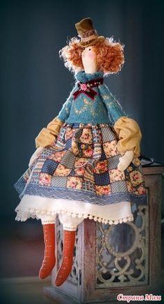 Куклы Тильда для примера