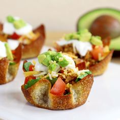 """Mind Over Munch   Taco """"Cupcakes"""" #appetizers #taco"""
