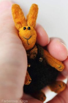 Miniature teddy bunny By Farberova Olga