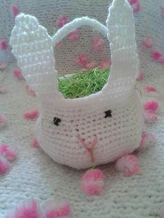 bunny easter busket