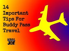 travel tips standby buddy pass
