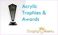 #AcrylicTrophy #Acrylic #trophies. Acrylic awards. Trophykart is the leading manufacturer of Acrylic Awards, best corporate gifts in the India.