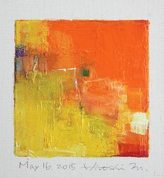May 2015 - Original Abstract Oil Painting - painting x 9 cm - app. 4 x 4 inch) with 8 x 10 inch mat Art Prints, Abstract Art Painting, Abstract Oil, Art Painting, Painting, Oil Painting, Abstract Canvas Art, Art, Abstract