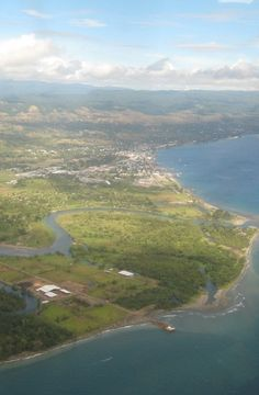 Solomon Islands - capital: Honiara - photo: view of Honiara from the east.