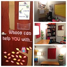 Happy School Counselor's Office