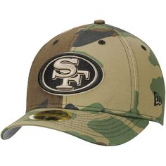 San Francisco 49ers New Era Woodland Camo Low Profile 59FIFTY Fitted Hat - $27.99