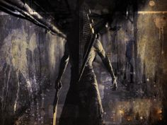 silent hill pyramid head by on DeviantArt Red Pyramid, Pyramid Head, Silent Hill Movies, Silent Hill Nurse, Creepy Games, Fatal Frame, Best Horrors, Resident Evil, Macabre