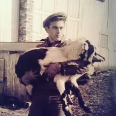 James Dean at his family farm