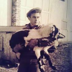 James Dean at his family farm