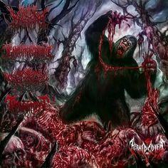 Death Metal, Monster Concept Art, Extreme Metal, Dreams And Nightmares, Metal Albums, Music Backgrounds, Inspirational Artwork, Metal Artwork, Dark Beauty