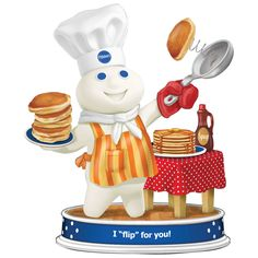 Doughboy Delights Figurine Collection - Flip for you!