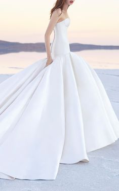 Alex Perry Bride Christy Strapless Long Line Corset Gown on Moda Operandi (affiliate link)