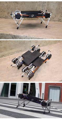 Маленький четырехногий робот #GhostMinitaur найдет путь к твоему сердцу