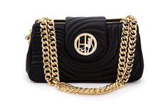 Henri Bendel Quilted Shoulder Bag GIMME love the chain links