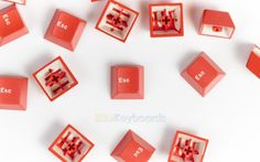 Authentic Cherry Red Esc (Double-Shot)