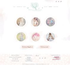 ProPhoto Theme / Photography Website design / Cute blog design by All the Adorables.