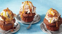 April- Flourless Chocolate Cupcakes | Save room on the sideboard for one of these reader favorite treats. In every issue of Southern Living magazine, our readers can find delicious recipes to prepare for their family and friends. Whether you're a novice cook that likes quick and easy recipes, or an experienced baker with an adventurous streak, you are sure to find a recipe to test your skills and tempt your taste buds. You can find fresh ideas for your farmers' market produce or new twists…