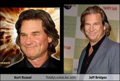 Kurt Russell Totally Looks Like Jeff Bridges