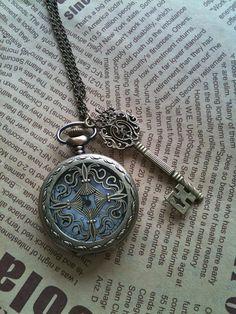 Watch, key, necklace