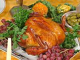 Brined and Roasted Turkey (Recipe by Emeril). Best recipe I've ever had/used for Thanksgiving Turkey!