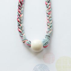 jewelry for kids from Bloesem wears. Fun and simple necklace.