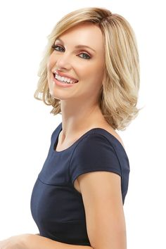 Wigs - This lace front wig features lots of layers in a classic bob style with a monofilament cap. Elizabeth is popular among hair loss wigs for women. Bob Hairstyles For Fine Hair, Lob Hairstyle, Monofilament Wigs, Jon Renau, Synthetic Wigs, Hair Type, Lace Front Wigs, Hair Trends, Her Hair