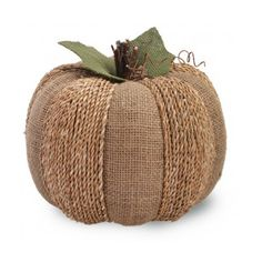 Found it at Wayfair - Boston International Large Burlap Pumpkin Sculpture - - Burlap Projects, Burlap Crafts, Fall Projects, Burlap Decorations, Decor Crafts, Burlap Pumpkins, Fabric Pumpkins, Fall Pumpkins, Sweater Pumpkins