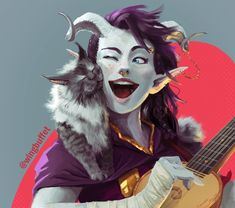 "wingbuffet: ""realizing I get commissioned for a lotta tieflings, mmm "" Fantasy Character Design, Character Creation, Character Design Inspiration, Character Concept, Character Art, Concept Art, Dungeons And Dragons Characters, Dnd Characters, Fantasy Characters"