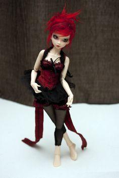 """Raspberry"" de Noble Dolls, sera/est en vente chez JPopdolls"