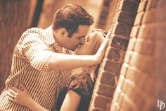 Passionate Kiss taken during a Boston Engagement Photography session in the North End.  All photos Brian Phillips Photography. #BostonWeddingPhotographer #BrianPhillipsPhotography #BostonEngagementPhotography #NorthEndEngagementPhotos #PassionateKiss