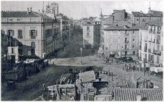 Puerta del Sol, Madrid. 1857.    Looks a bit different now :)
